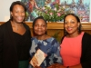 With Acting Dominican High Commissioner to the UK Janet Charles and daughter Miranda Grell
