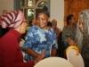 With Venetta Ndebele and Irma Huggins