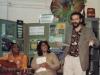 Performing with Parminder Chadha and John Agard